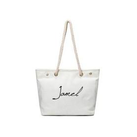 Duża torba XXL materiałowa Biel T115B JAMEL