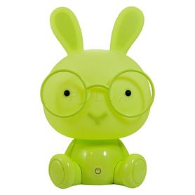 Lampa nocna dziecięca LED Królik zielony