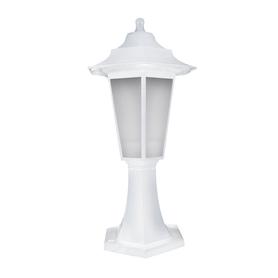 Lampa ogrodowa BEGONYA1 BIAŁA 42,8 cm
