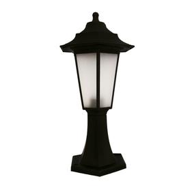 Lampa ogrodowa BEGONYA1 CZARNA 42,8 cm