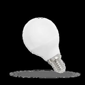 Żarówka Led E14 8W kulka biała zimna, spectrum