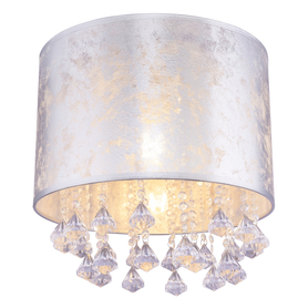 Lampa Plafon Srebrna AMY Globo 15188D3S