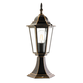 Lampa ogrodowa LO4104 CZARNO-ZŁOTA 42 cm