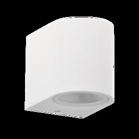 LAMPA KINKIET ZEWNĘTRZNY BOSTON biały 1xGU10