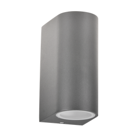 LAMPA KINKIET ZEWNĘTRZNY BOSTON ciemnoszary 2xGU10