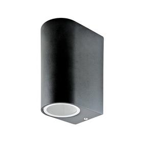 LAMPA KINKIET ZEWNĘTRZNY BOSTON czarny 2xGU10