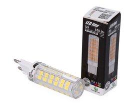 Żarówka LED SMD G9 230V 6W biała dzienna 4000K