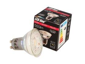Żarówka LED line GU10 5,5W 550lm 4000K ściemnialna.