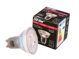 Żarówka LED line GU10 5,5W 500lm 2700K ściemnialna