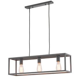 Żyrandol Lampa wisząca SIGALO 3 szary