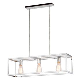 Żyrandol Lampa wisząca SIGALO 3 chrom