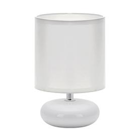 LAMPKA NOCNA STOŁOWA PATI E14 WHITE