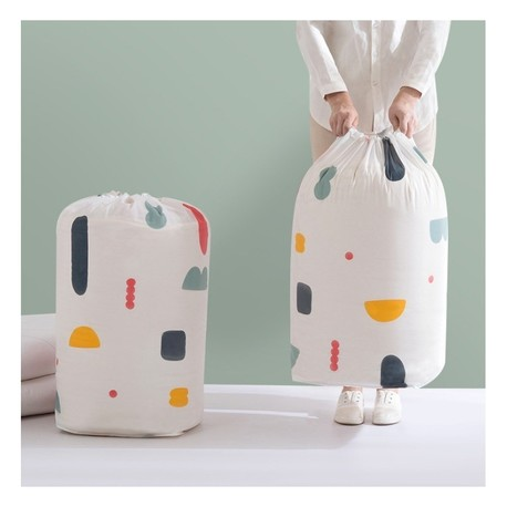 Pojemnik na zabawki lub pranie, kosz worek OR49WZ3 (2)