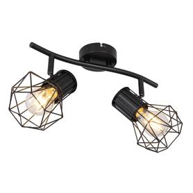 LAMPA SPOT LISTWA PRISKA GLOBO 54017-2 czarny