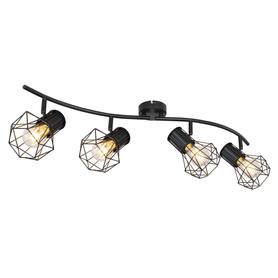 LAMPA SPIRALA SPOT PRISKA GLOBO 54017-4 czarny