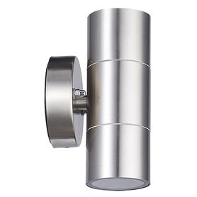 LAMPA KINKIET ZEWNĘTRZNY OLIMP satyna 2 x GU10