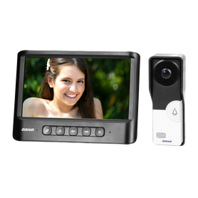 Zestaw wideodomofonowy, bezsłuchawkowy kolor LCD 7 OR-VID-MC-1059/B