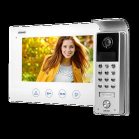 Zestaw wideodomofonowy bezsłuchawkowy, kolor LCD 7 OR-VID-ME-1056/W