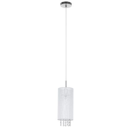 Lampa Zwis kryształki Biała LANA MDM1787/1W (1)