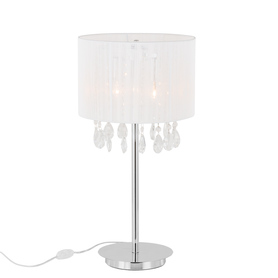 Lampka nocna ESSENCE MTM9262/3P WH kryształki