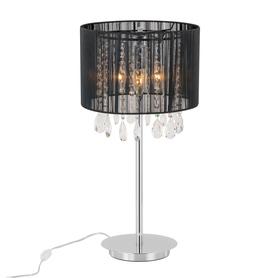 Lampka nocna ESSENCE MTM9262/3P BK kryształki