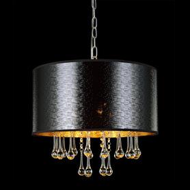 Lampa Żyrandol Plafon Kryształki Sasha MDM2028/3
