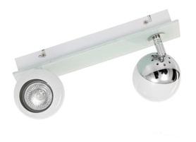 Lampa spot MATT 2 biała