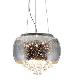 Lampa wisząca kryształki JULIA 5xE14