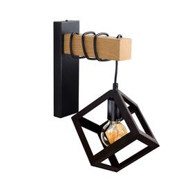 Kinkiet lampa ścienna SWEDEN WOOD E27