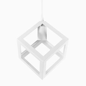 Lampa wisząca SWEDEN LOFT 1xE27 biała