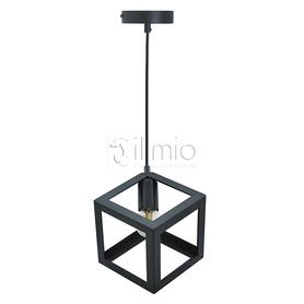 Lampa wisząca SWEDEN LOFT 1xE27 czarna