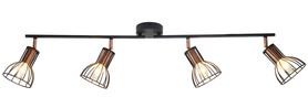 LAMPA spot oprawa ścienno-sufitowa SOFIA 4 x E14