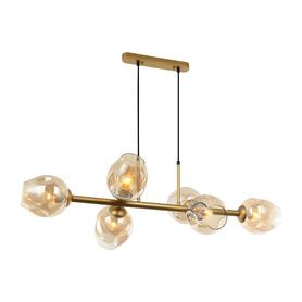 Żyrandol nowoczesny Borgo 6xE27 LAMPA WISZĄCA GD