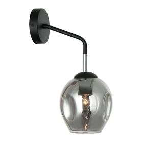 KINKIET nowoczesny lampa ścienna 1xE27 Borgo BK