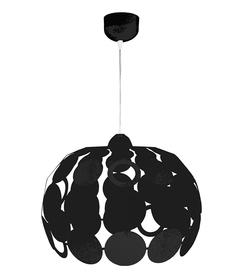 Lampa Bodek nowoczesna metalowa czarna 377