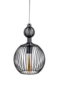 Lampa Bodek nowoczesna metalowa czarna 378