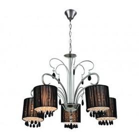 Lampa żyrandol Saintes 5 satyna