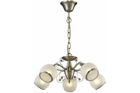 Lampa Zyrandol ILONA 5 PŁ PATYNA 108505-04
