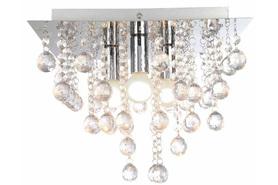 Lampa plafon kryształki Lancaste 3xE14