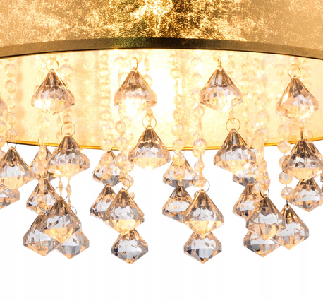 Lampa Plafon Złota AMY Globo 15187D3 (2)