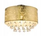 Lampa Plafon Złota AMY Globo 15187D3 (1)