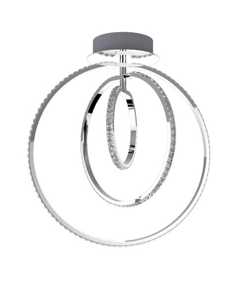 Lampa Zwis Chrom LED 35w Kosmo (1)