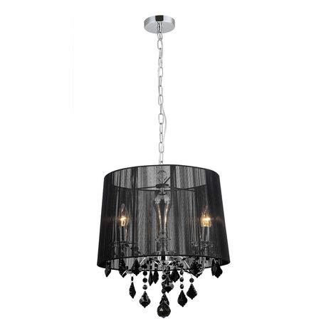 Lampa Żyrandol Nowoczesny Kryształki CORNELIA MDM-2572/3 bk (1)