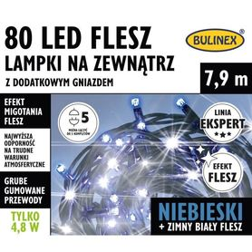 LAMPKI FLESZ LED80L DOD.GNIAZ.NIEBI 75-426