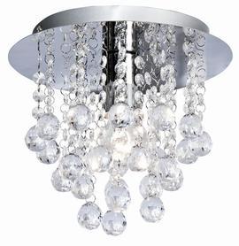 Lampa Plafon LONDON kryształki 1xE14