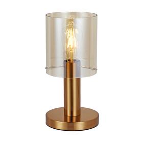 NOWOCZESNA LAMPA STOŁOWA SARDO TB-5581-1-BRO+AMB