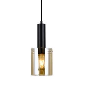 SARDO Lampa wisząca PND-5581-1-BK+AMB