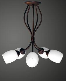 Lampa żyrandol Santos 5