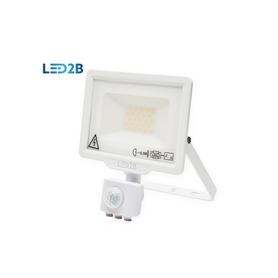 Naświetlac Oprawa LED z czujnikiem 20W ZIMNOBIAŁA