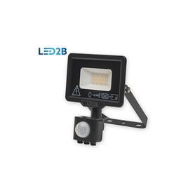 Naświet Oprawa LED z czujnikiem 10W CIEPŁOBIAŁA BL